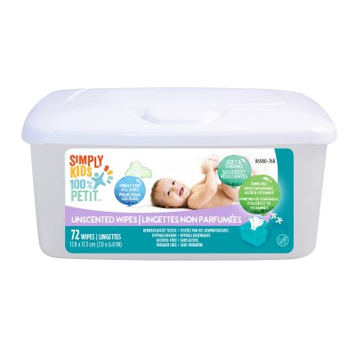 Baby Wipes Unscented - Flip Lid