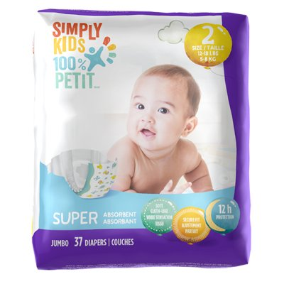 Diapers - Size 2