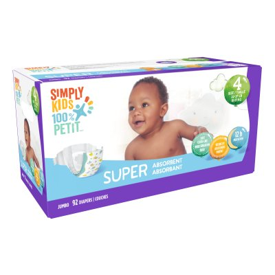 Diapers - Size 4 - Box