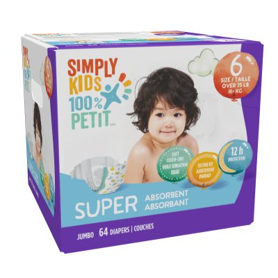 Diapers - Size 6 - Box