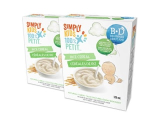Simply kids Baby Cereals
