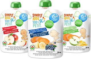 Simply kids Organic Baby Food Purées