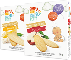 Simply kids Toddler Rice Rusks