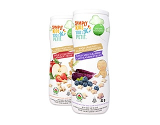 Simply kids Organic Wholegrain Puffs