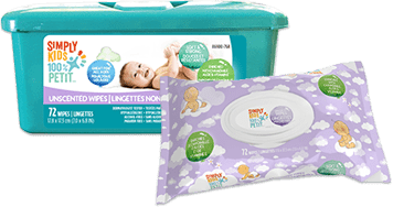 Simply kids Serviettes humides